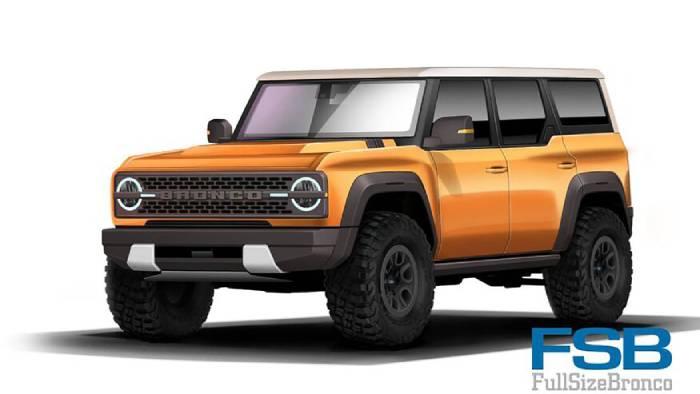 ألوان سيارة فورد برونكو 2021 Ford Bronco مود كار