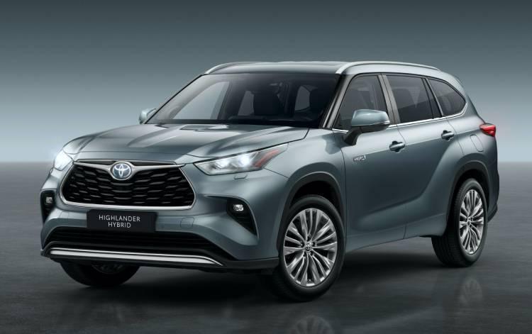 تويوتا هايلاندر مقاعد هجينة لأوروبا 2021-Toyota-Highland